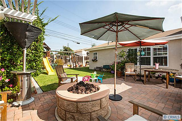 9551 Pollack Dr Backyard | Huntington Beach Real Estate