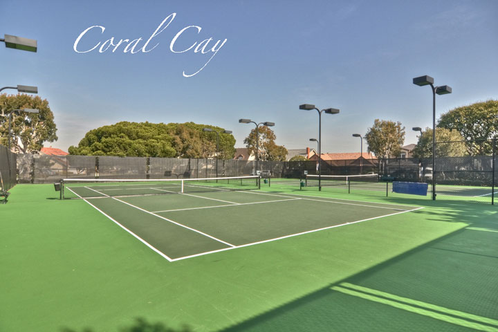 Coral Cay Tennis Courts | Huntington Beach Real Estate