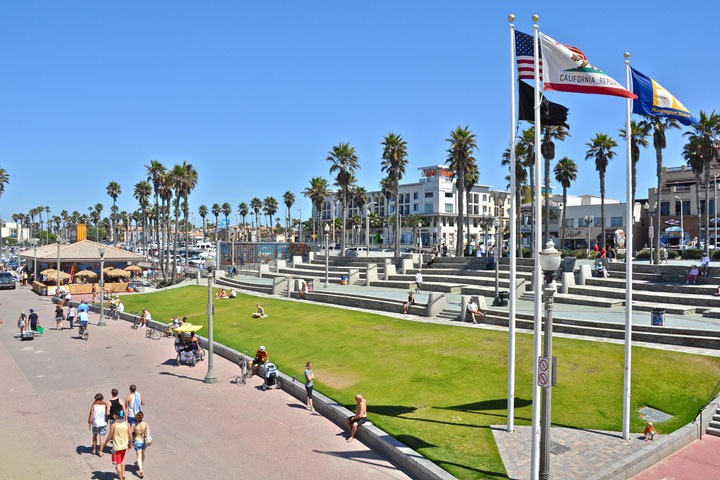 The Downtown Area of Huntington Beach is a great place to live in the Heart of Huntington Beach