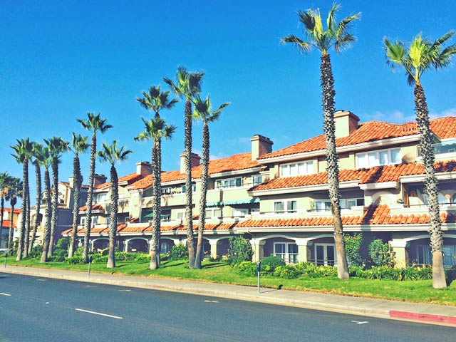 Harboring Villas condo community in Huntington Beach, California